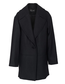 PROENZA SCHOULER Wool Cashmere Coating Black