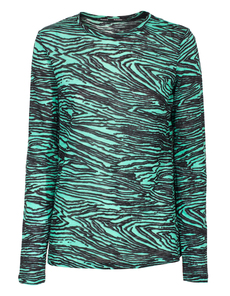PROENZA SCHOULER Graphic Wave Green