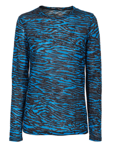 PROENZA SCHOULER Graphic Wave Blue