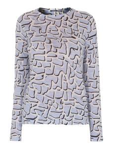 PROENZA SCHOULER Printed Tissue Lavender