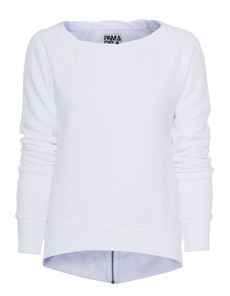 Pam&Gela Anni Fleece Zipper White