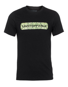 UNSTOPPABLE NYC Potleaf Logo Black