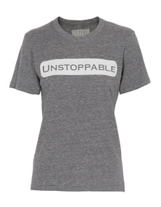 UNSTOPPABLE NYC Base Print Heather Grey