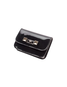 PROENZA SCHOULER PS11 Shiny Card Black
