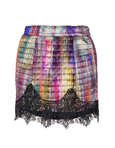 FELDER FELDER Donna Print Hammered Silk Multi