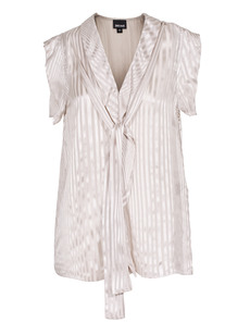 JUST CAVALLI Striped Bow Champagne