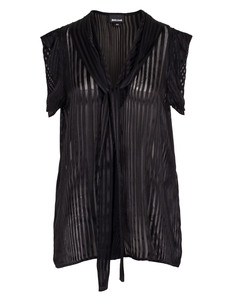 JUST CAVALLI Striped Bow Black