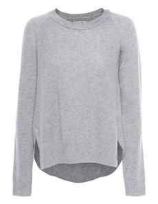 Rosa von Schmaus Slitted Knit Grey
