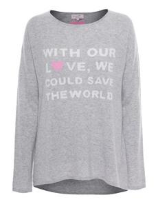 Rosa von Schmaus Save The World Heather Grey