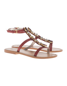 DSQUARED2 Metallic Chic Stone Red