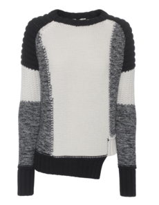 EACH OTHER Patch Knit Black Cream
