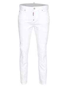 DSQUARED2 Cool Girl Jean Long Crotch White
