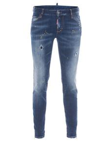 DSQUARED2 Super Slim Medium Crotch Blue