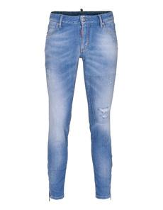 DSQUARED2 Super Slim Medium Crotch Tight Bottom Light Blue