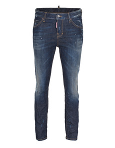 DSQUARED2 Cool Girl Long Crotch Tight Bottom Raw