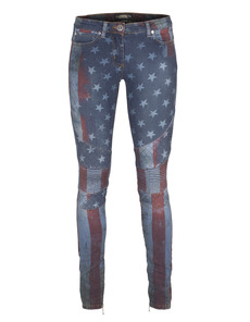 CAMOUFLAGE COUTURE STORK Sary Skinny Stars and Stripes