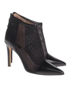 Steffen Schraut Pointy Mesh Leather Black