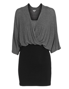 SPLENDID Blouse Top Steel Black