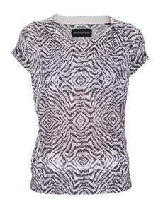 ZADIG&VOLTAIRE Hexa Print Deluxe Black White