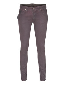 Loveday Jeans Used Skinny Aubergine