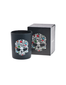 PAUKER Flower Multicolour Skull