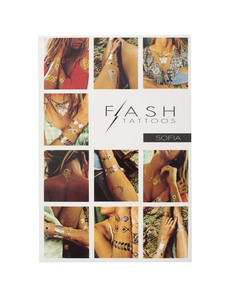 FLASH TATTOOS Sofia Gypsy Chic