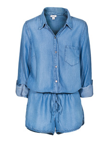 SPLENDID Romper Chambray