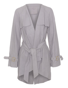 RAW+ Open Trench Platinum Grey