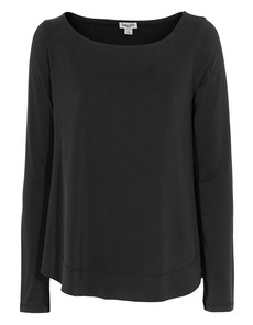 SPLENDID Boatneck Jersey Black