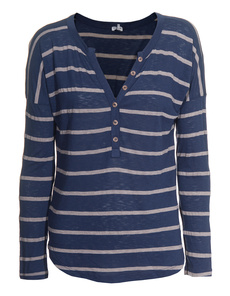 SPLENDID Nutmeg Striped Denim