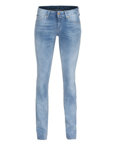 SEVEN FOR ALL MANKIND Olivya The Low Skinny Wash Blue