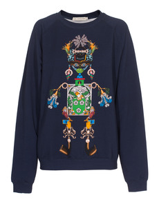MARY KATRANTZOU Tikki Man Navy Multi