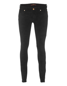SEVEN FOR ALL MANKIND The Sueded Skinny Black