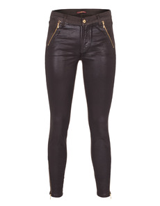 SEVEN FOR ALL MANKIND The Skinny Moto Dark Brown