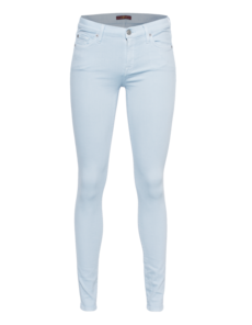 SEVEN FOR ALL MANKIND The Skinny Coloured Slim Illusion Pastel Blue