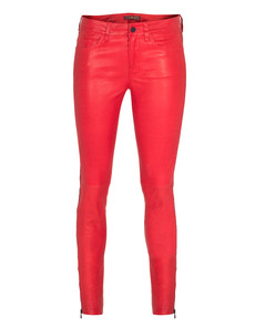 SEVEN FOR ALL MANKIND Leather Pant Red