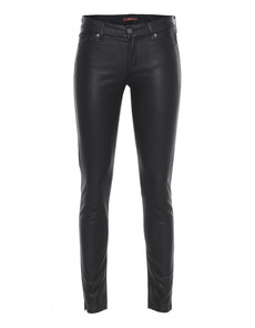SEVEN FOR ALL MANKIND The Skinny Knee Seam Black