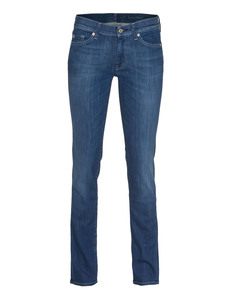SEVEN FOR ALL MANKIND Roxanne The Slim Blue