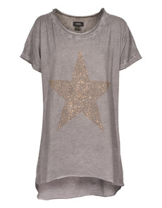 CAMOUFLAGE COUTURE STORK Gold Star Grey