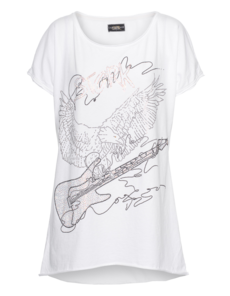 CAMOUFLAGE COUTURE STORK Guitar White
