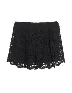 Nightcap Clothing Crochet Flare Black