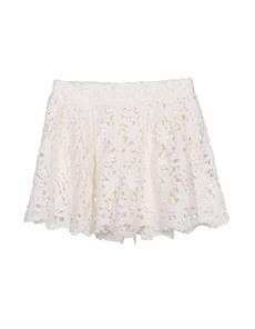 Nightcap Clothing Crochet Flare White