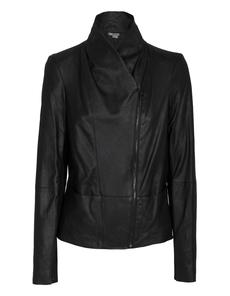 VINCE Pocket Leather Black