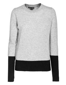 VINCE Black Rib Heathered Grey