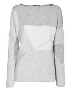 VINCE Abstract Jaquard Grey