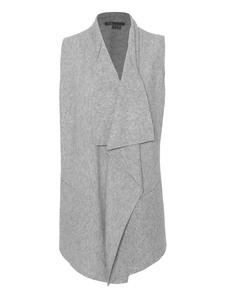 VINCE Lightweight Drape Heathered Grey
