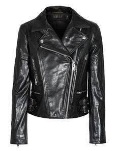 VICTORIA BECKHAM DENIM Classic Biker Leather Black
