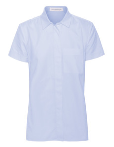 VICTORIA BECKHAM DENIM Cap Pocket Cotton Pale Blue