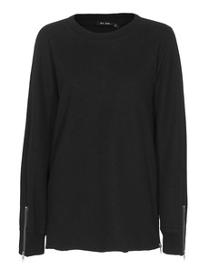 BLK DNM  Cozy Zip Black