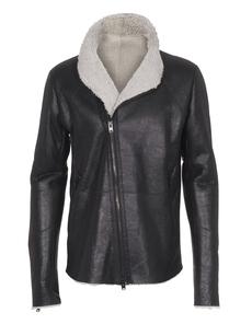 THE VIRIDI-ANNE Leather Fur Black